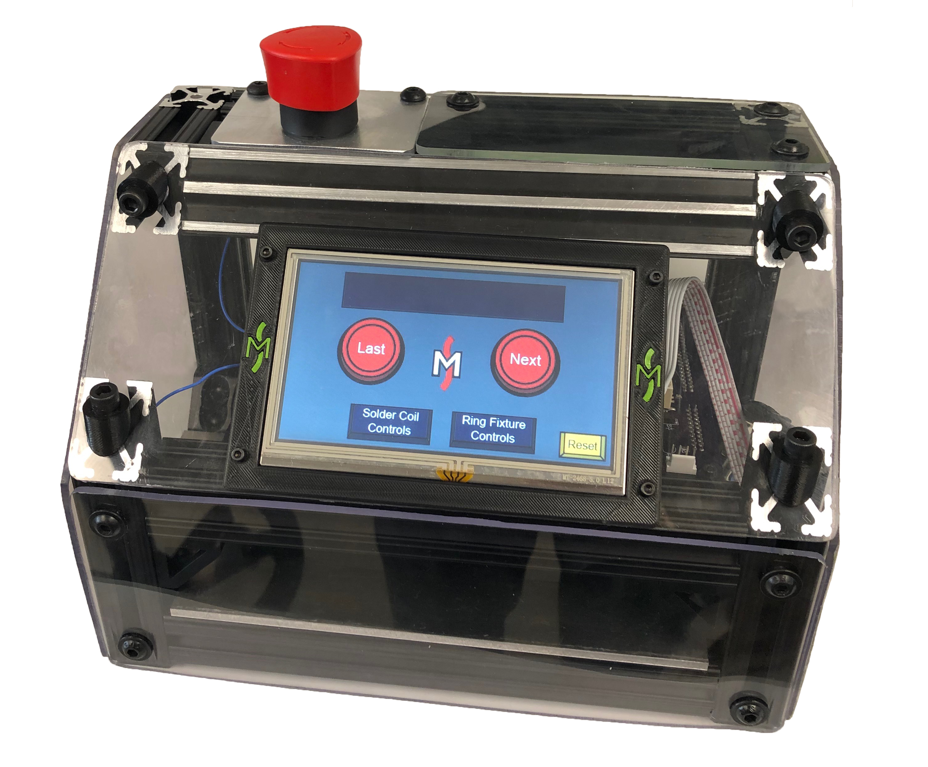 Control Box with Touch Screen